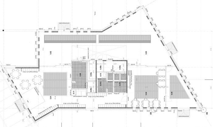 Werktekening Bijlmer aula