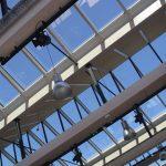 Bouwmanagement Glazen kap schoolgebouw aula