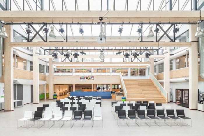 Aula Slingerbos nieuwbouw